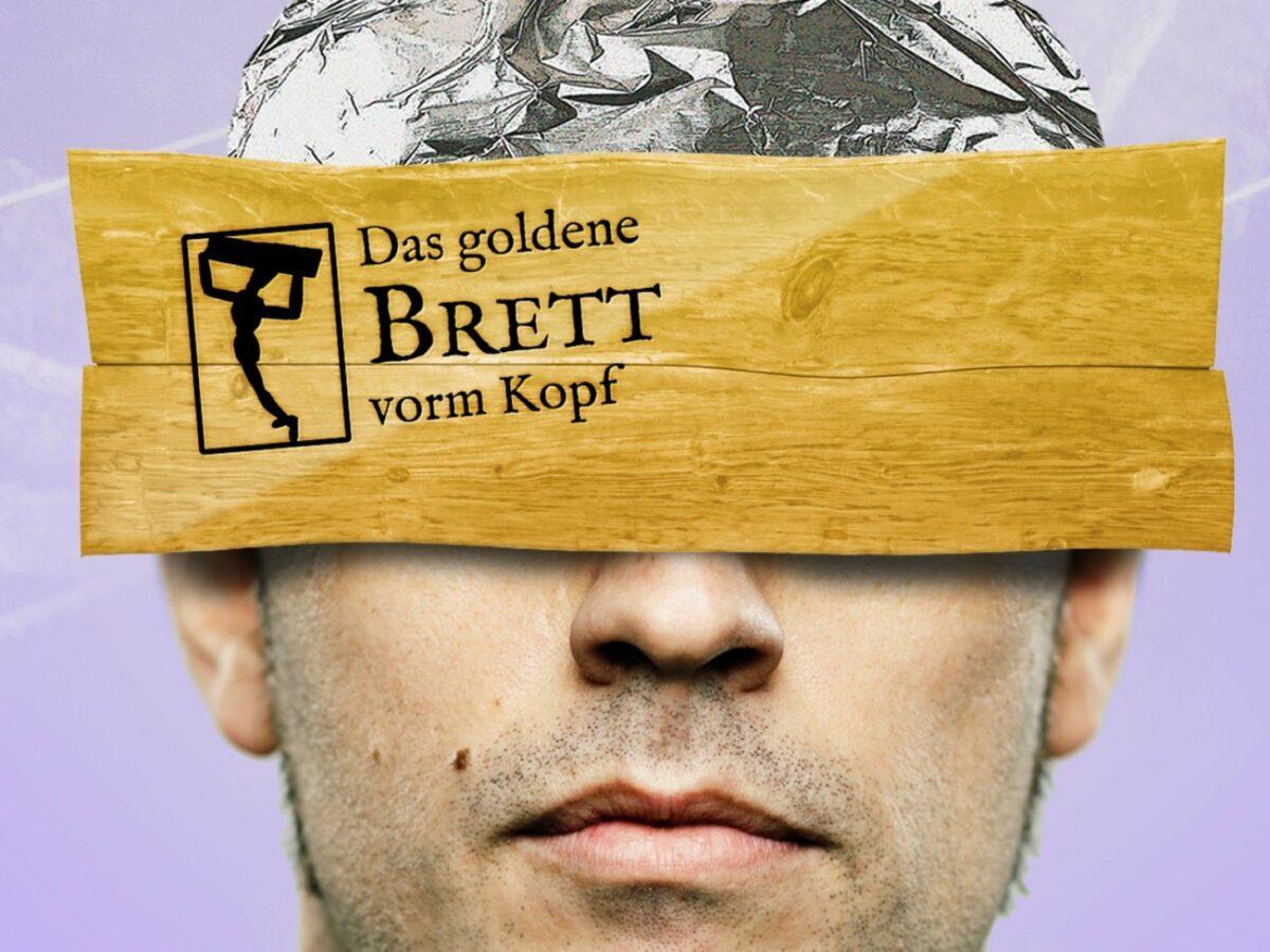 Logo: Goldenes Brett