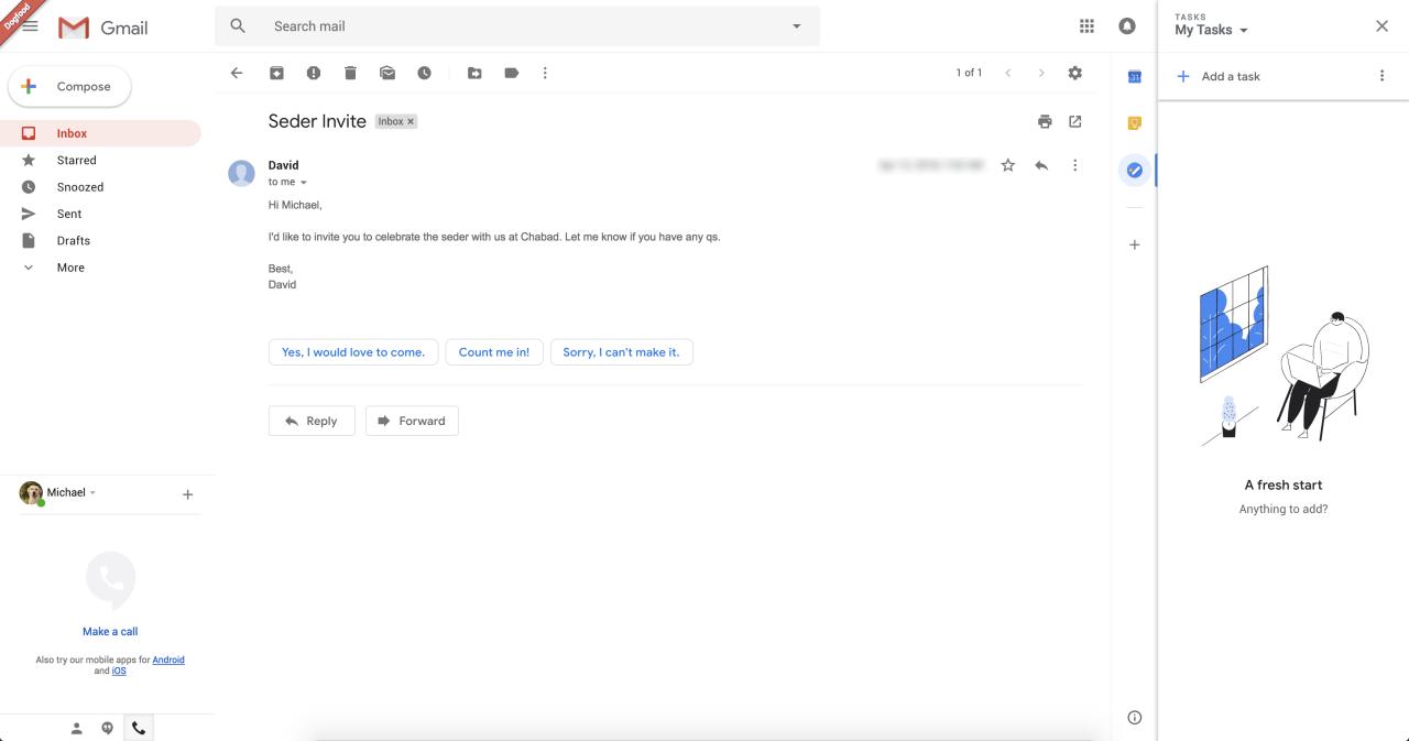 Es sei nur eine kleine Gruppe von Gmail-Nutzern betroffen.