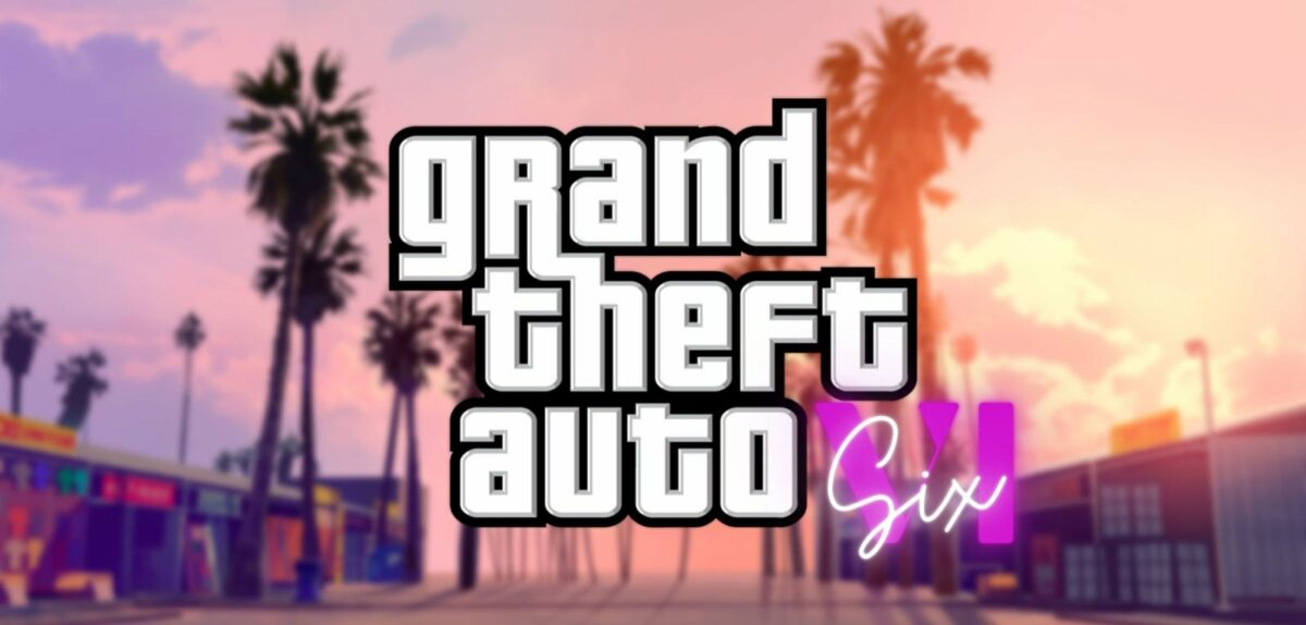 """Grand Theft Auto VI""-Schriftzug"