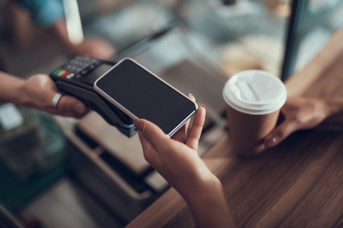 Bezahlen via Smartphone.