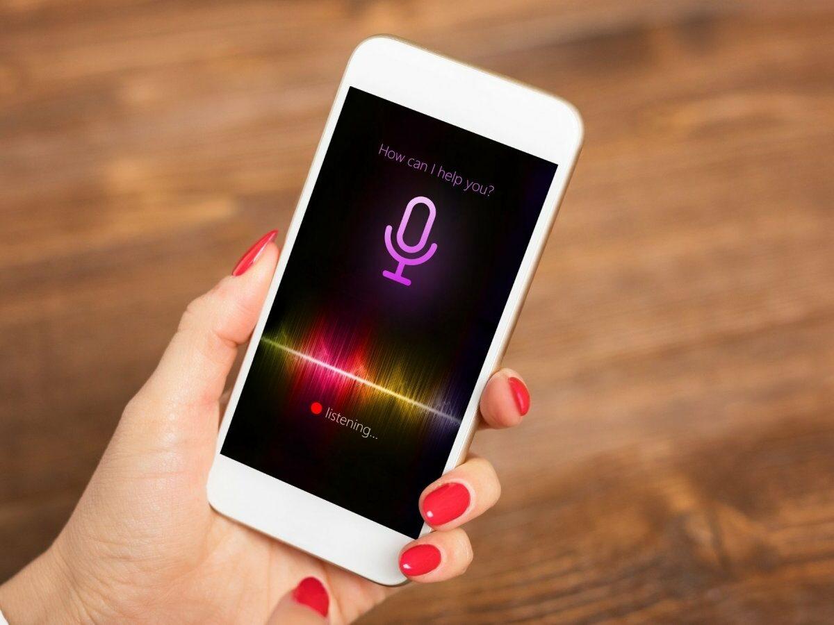 Siri auf einem iPhone
