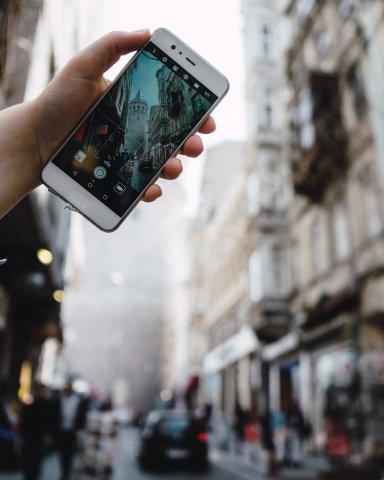 Teile deine Bilder mit Huawei Share