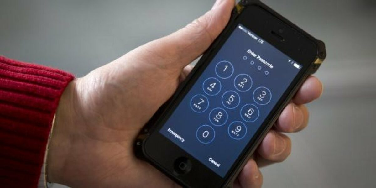 iPhone-Code Finger