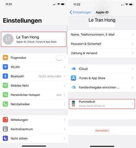So aktiviert ihr das iCloud-Backup auf eurem iOS-Gerät.