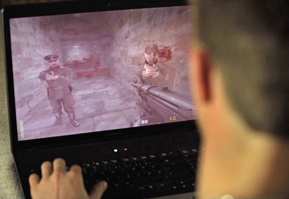 """Die Spiele der """"Wolfenstein""""-Reihe gehören zu den sogenannten Ego-Shootern."""