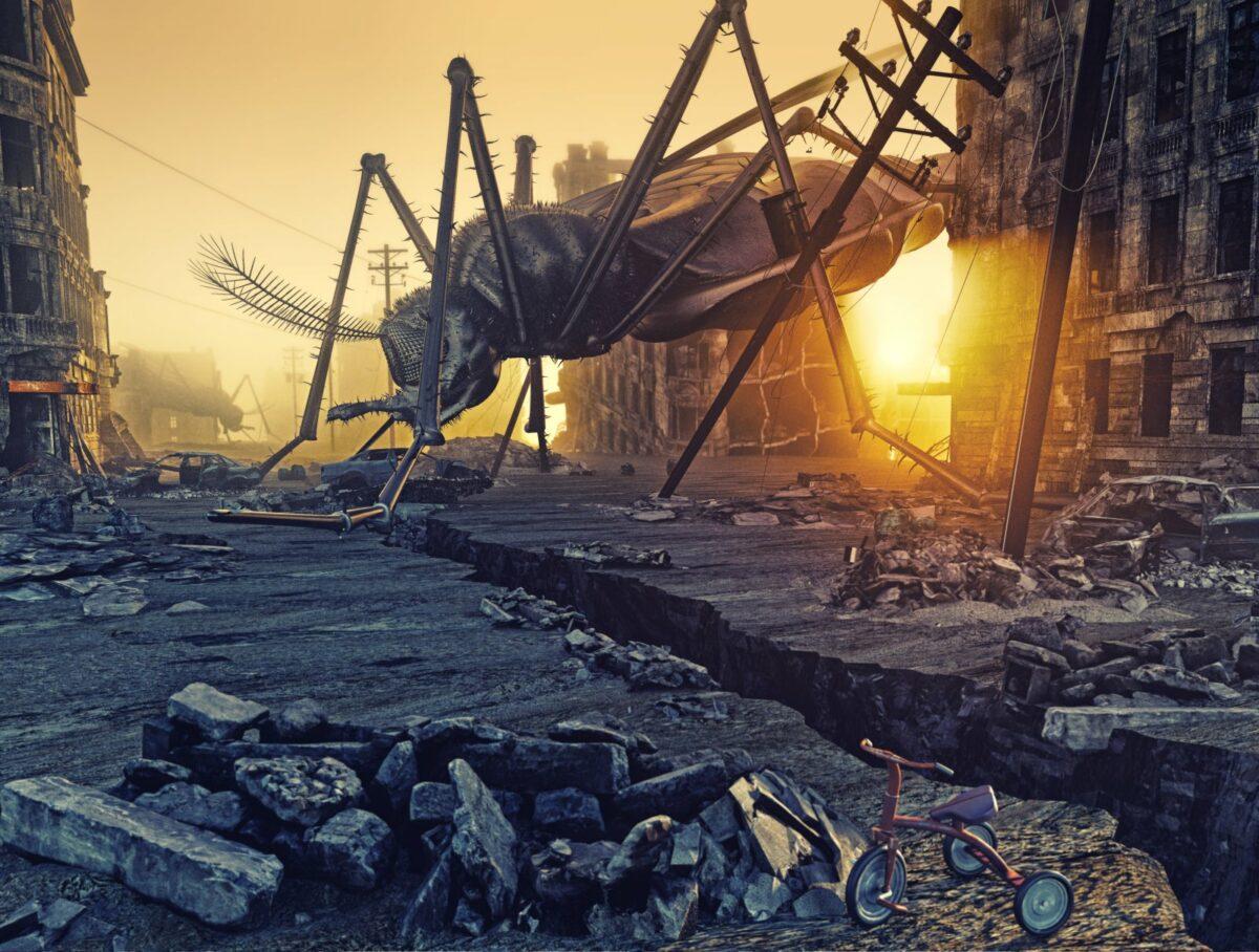 Weltuntergang: Durch Lichtverschmutzung könnten sie die Apokalypse einläuten.
