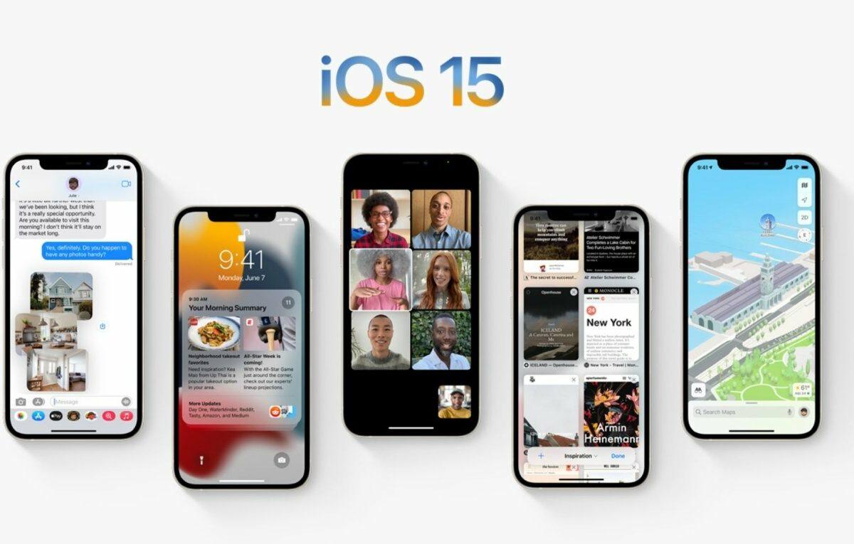 iOS 15 Betriebssystem