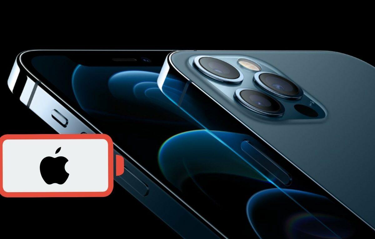 Apple iPhone 12 und ein leerer Akku