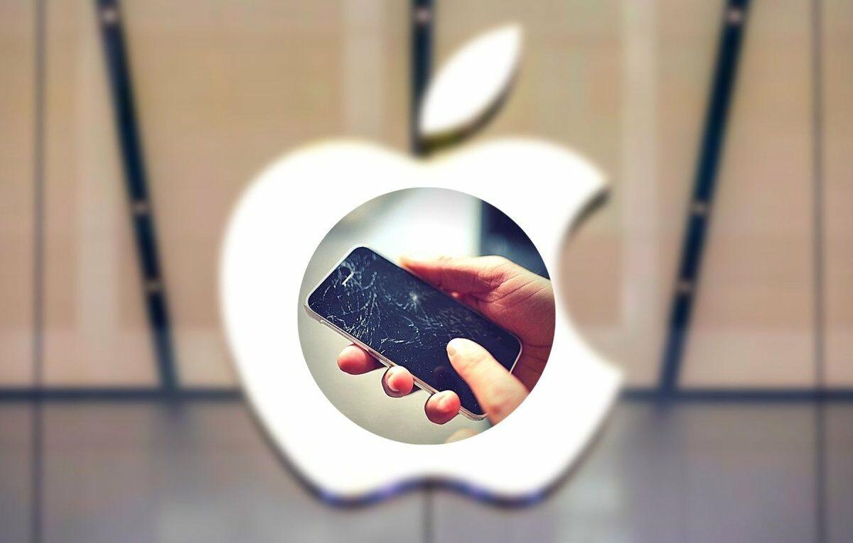 Kaputtes iPhone