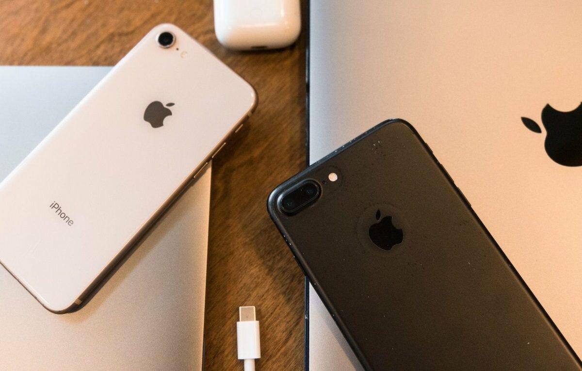 verschiedene Apple-Geräte