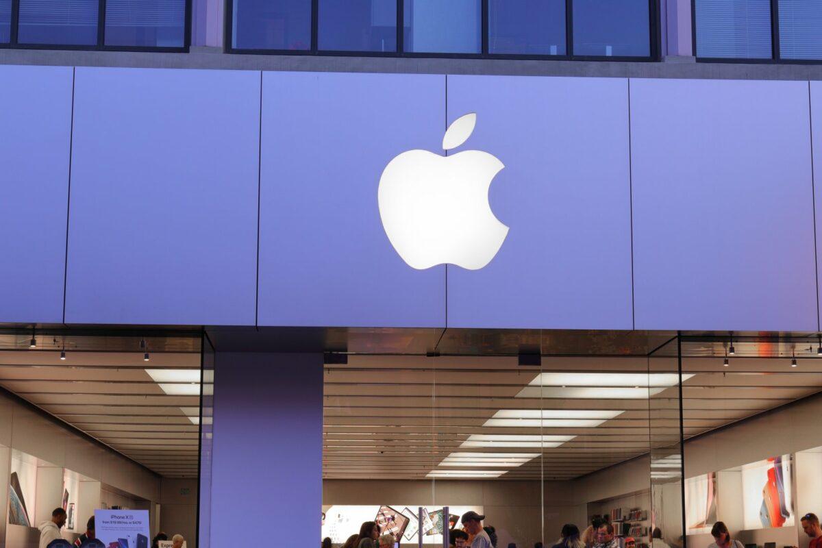 Fassade eines Apple Stores