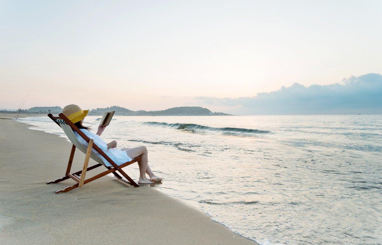 Lesen in der Natur: Das wäre doch mal eine gute Mischung zum Relaxen.
