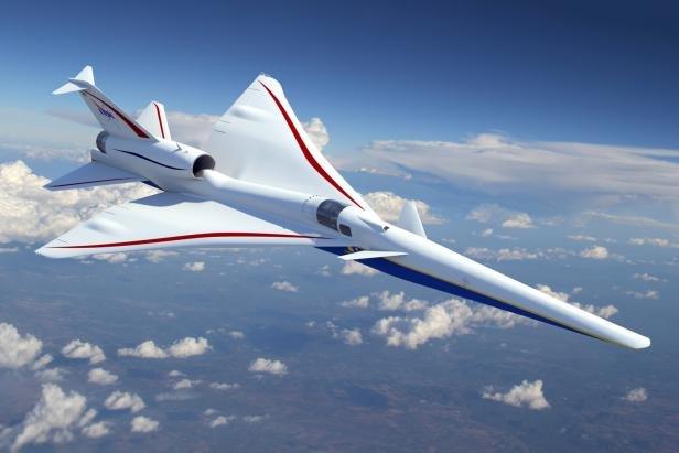 Auch die NASA experimentiert mit lautlosen Überschallfliegern.