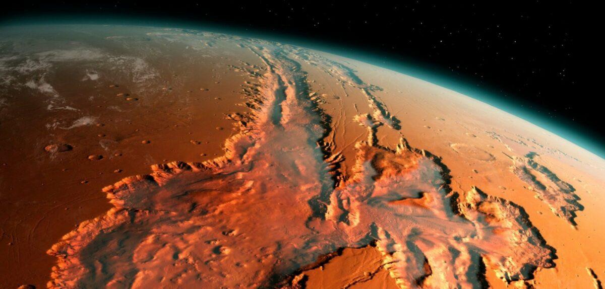 Mars-Oberfläche