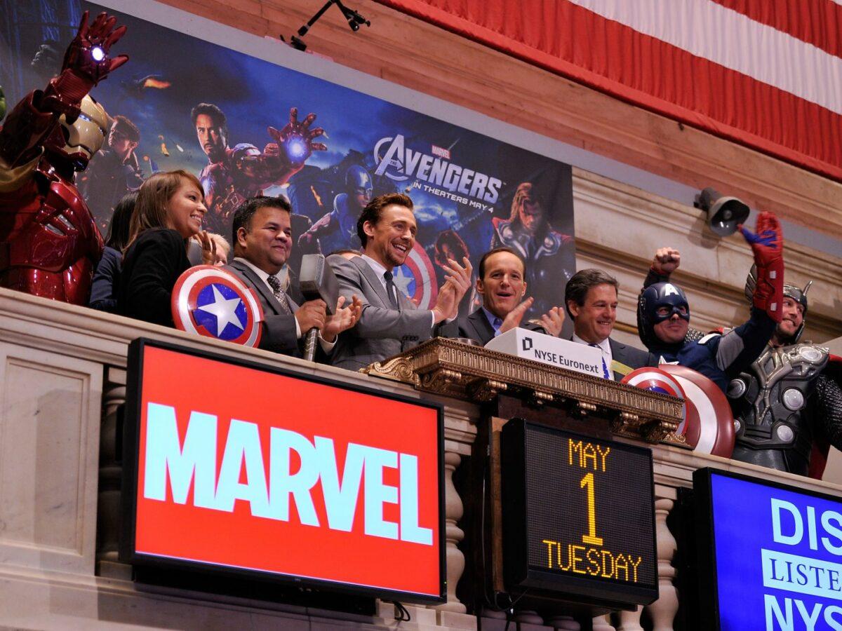 Hauptdarsteller des Films Avengers.
