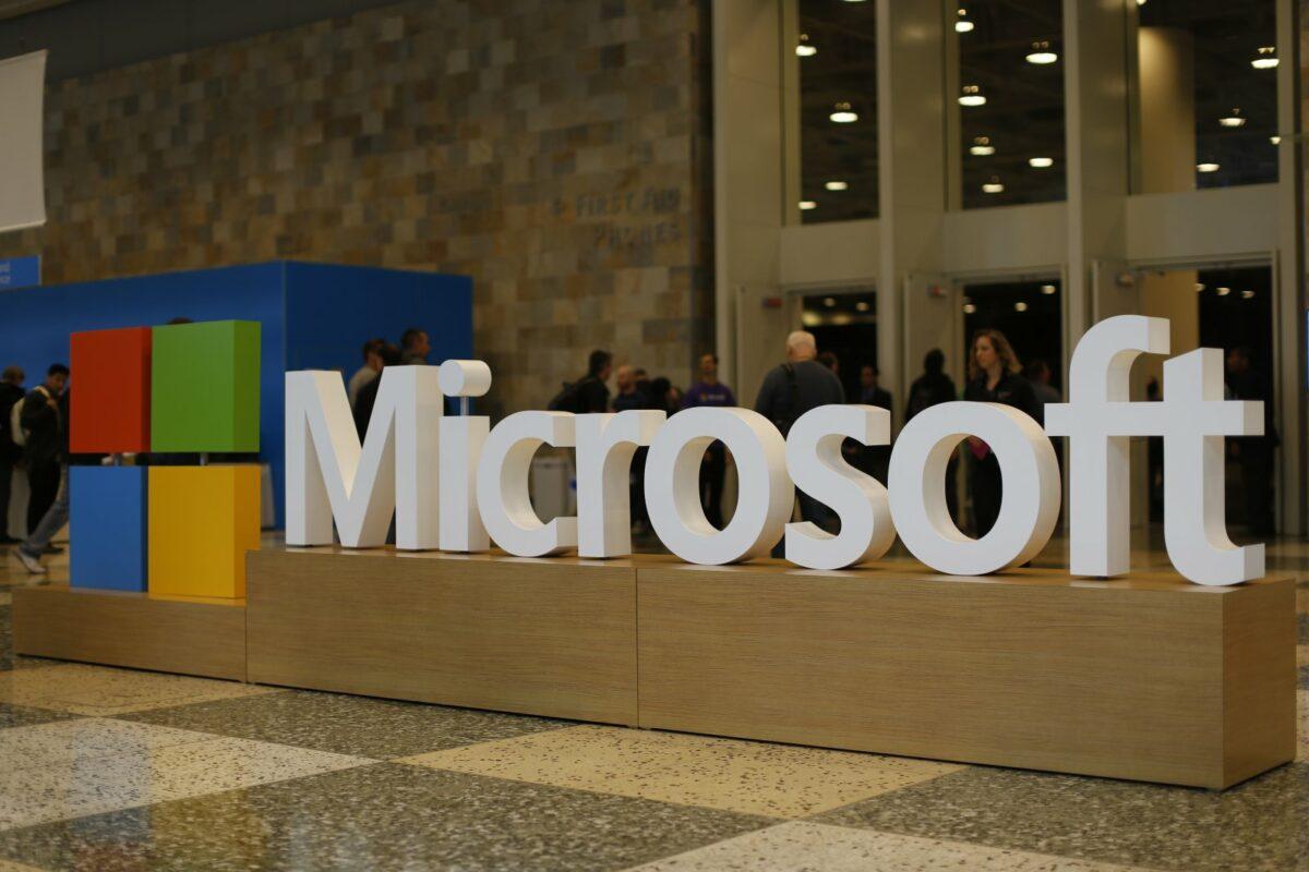 Das Microsoft-Logo.
