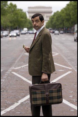 """Rowan Atkinson in seiner Kultfigur """"Mr. Bean""""."""