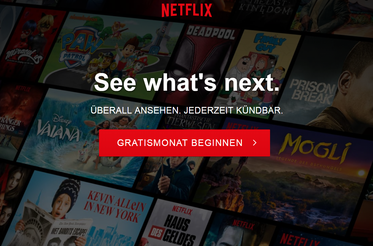 Netflix kostenlos nutzen So streamst du Filme gebührenfrei ...