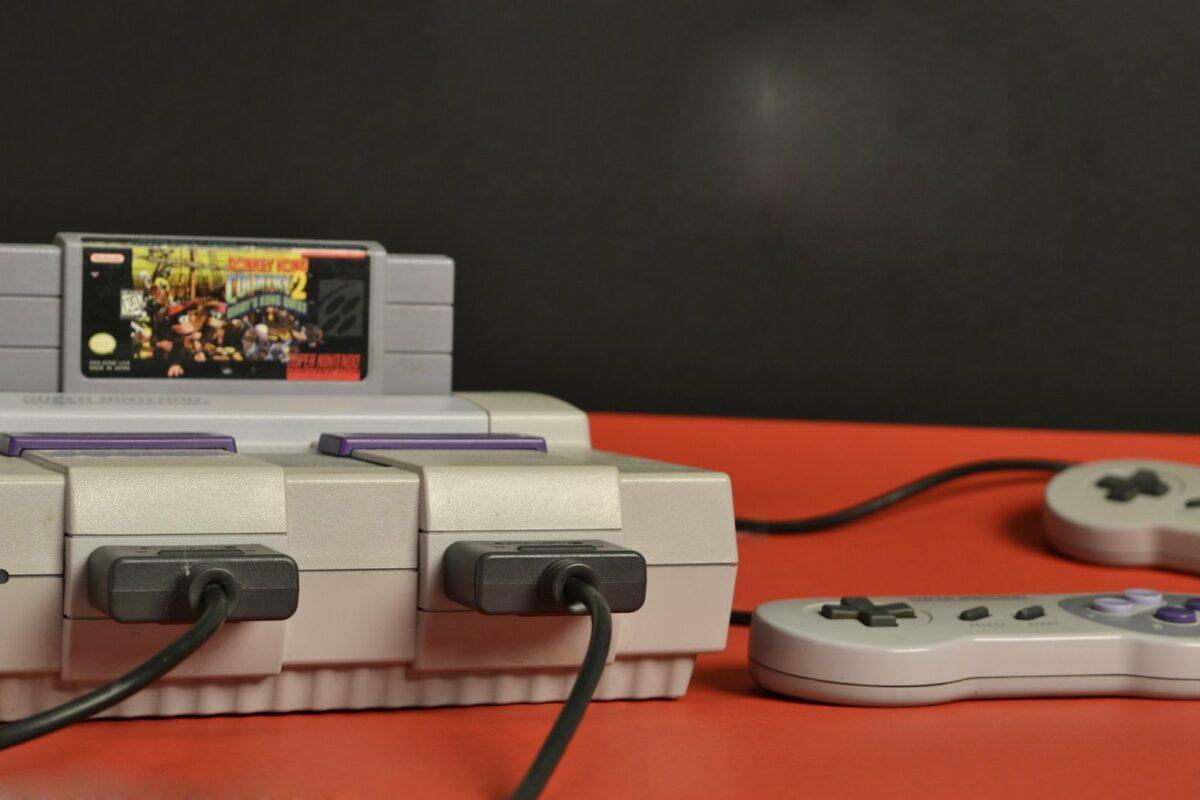 Nintendo Super-NES-Konsole