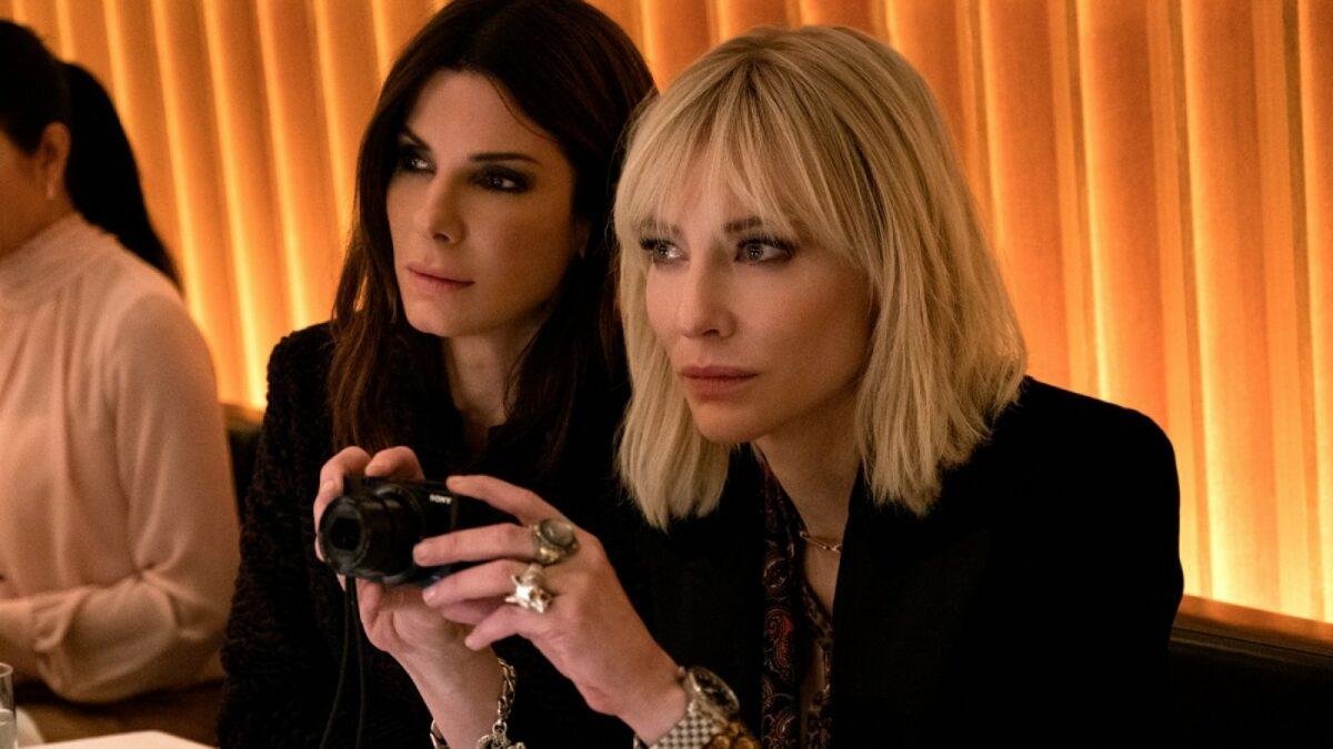 Sandra Bullock und Cate Blanchett in Ocean's 8.