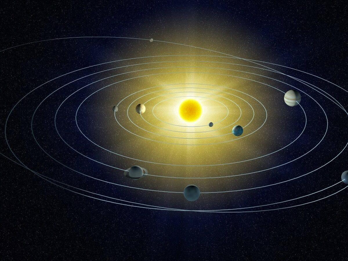 Unser Sonnensystem.