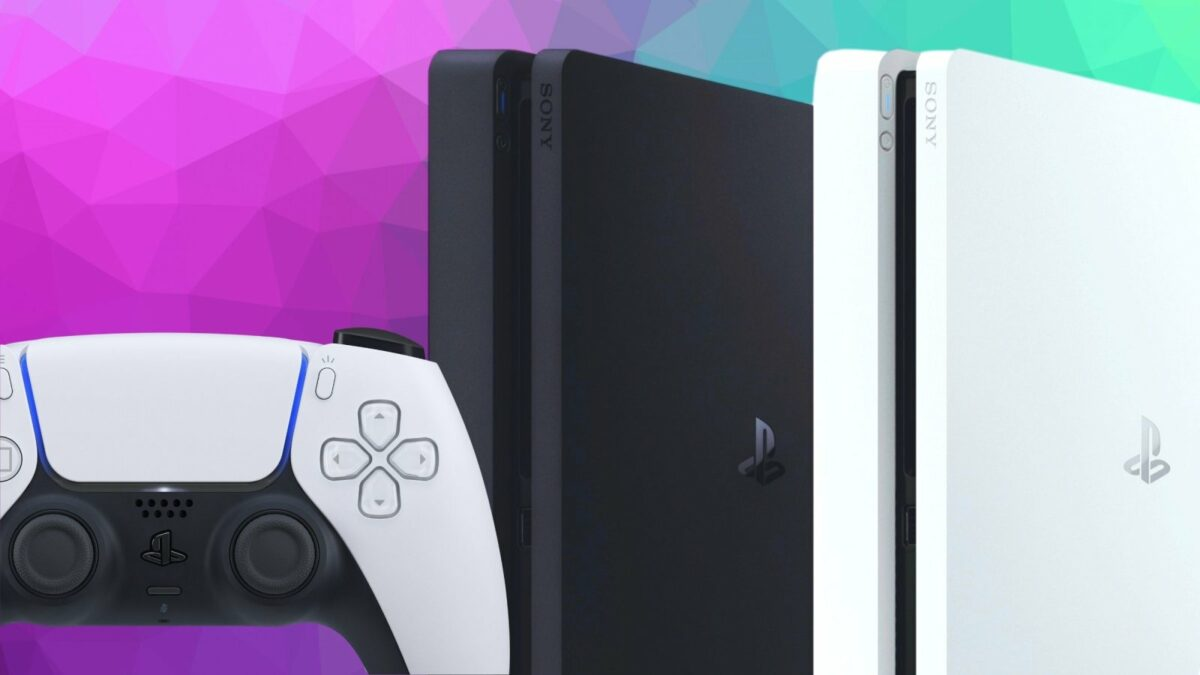 PS5-Controller mit PS4