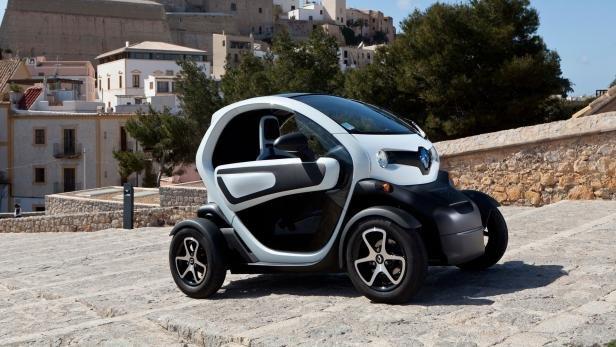 Der Renault Twizy dehnt die Dimensionen des Begriffs Auto ein wenig.
