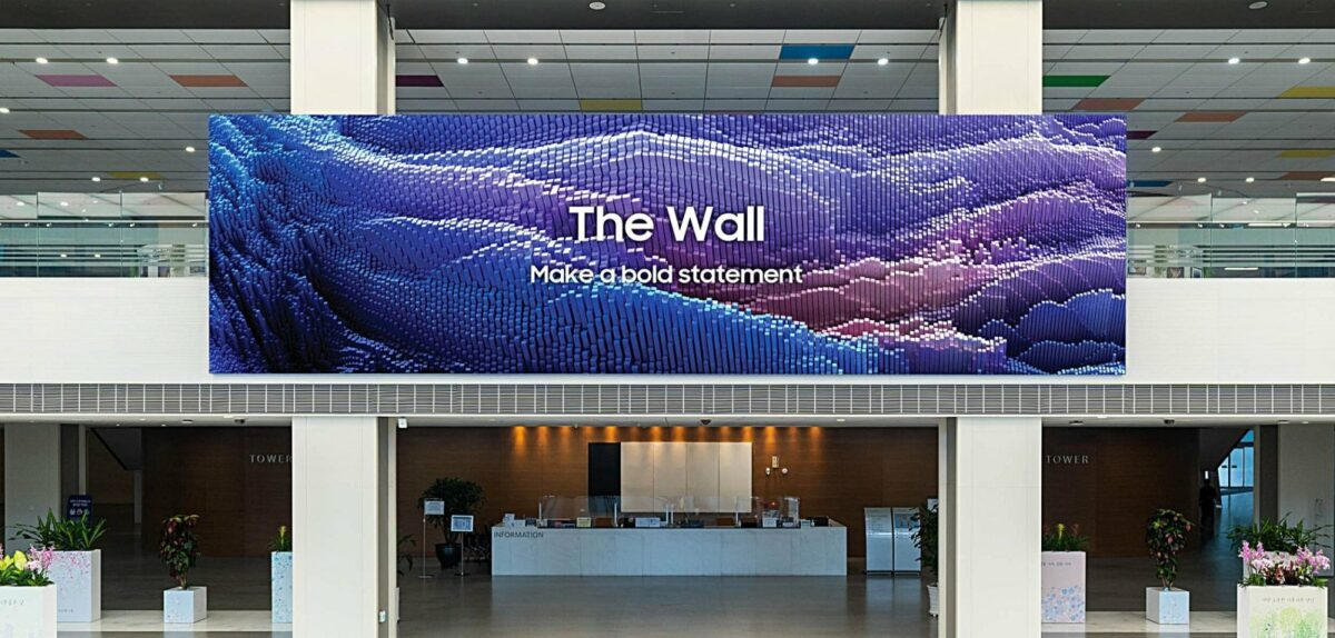 "Samsungs ""The Wall"""