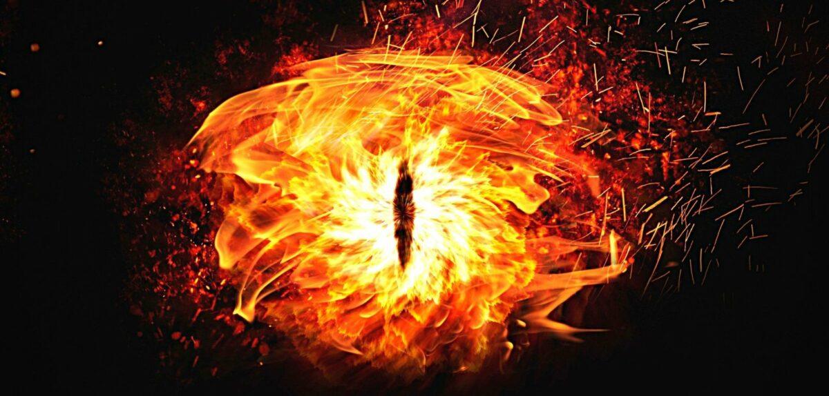 Saurons Auge (Symbolbild)