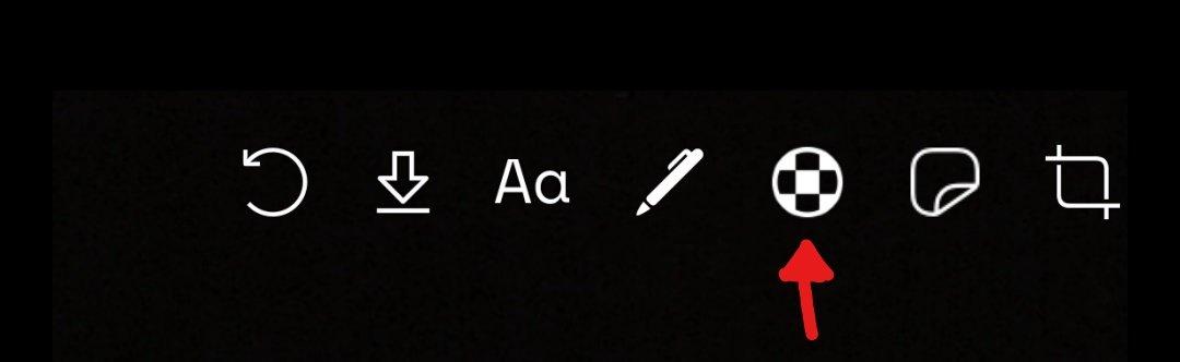 """Klicke auf dieses Symbol um zu """"Gesichter verwischen"""" zu gelangen."""