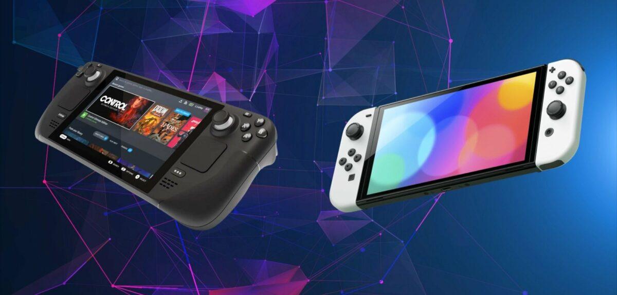 Steamdeck und Nintendo Switch