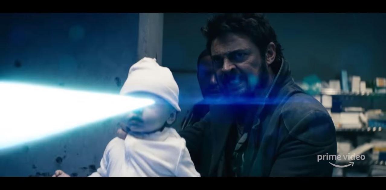 """Ein Baby als Waffe? Das gibt es nur bei """"The Boys"""". Bald kommt Staffel 2 der Erfolgsserie."""