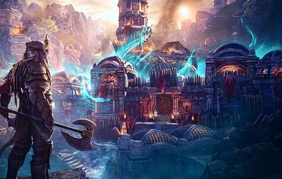 """The Elder Scrolls Online"" (2014) Artwork"