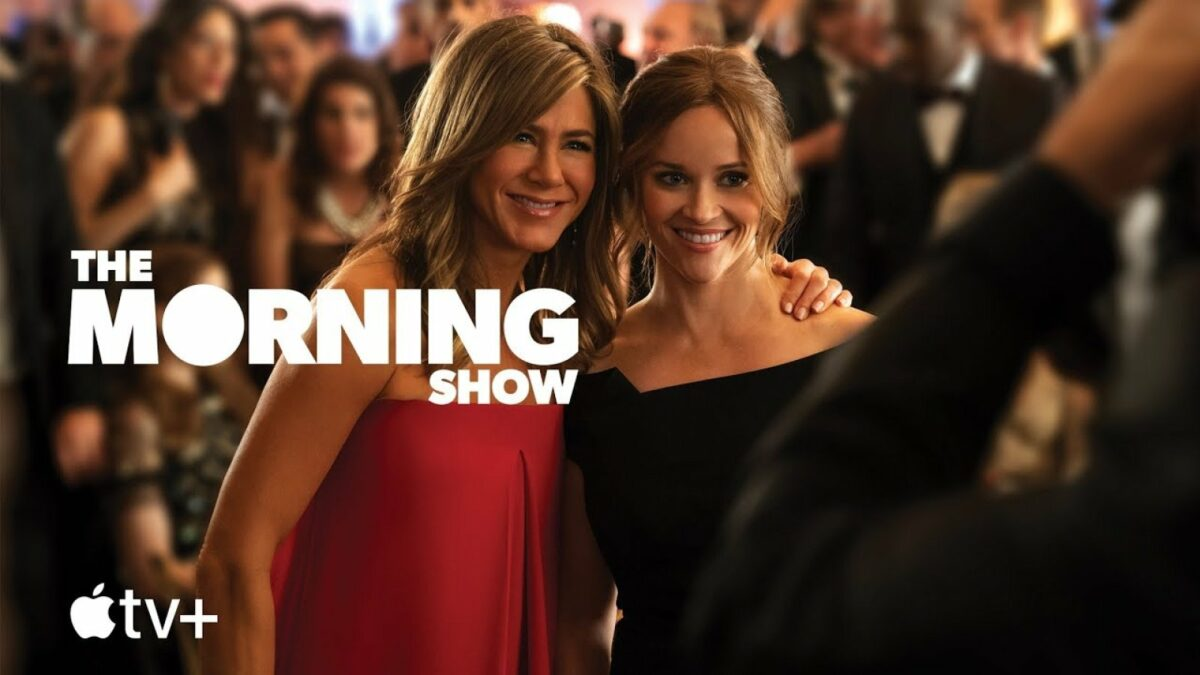the morning show auf apple tv+ jennifer aniston reese witherspoon