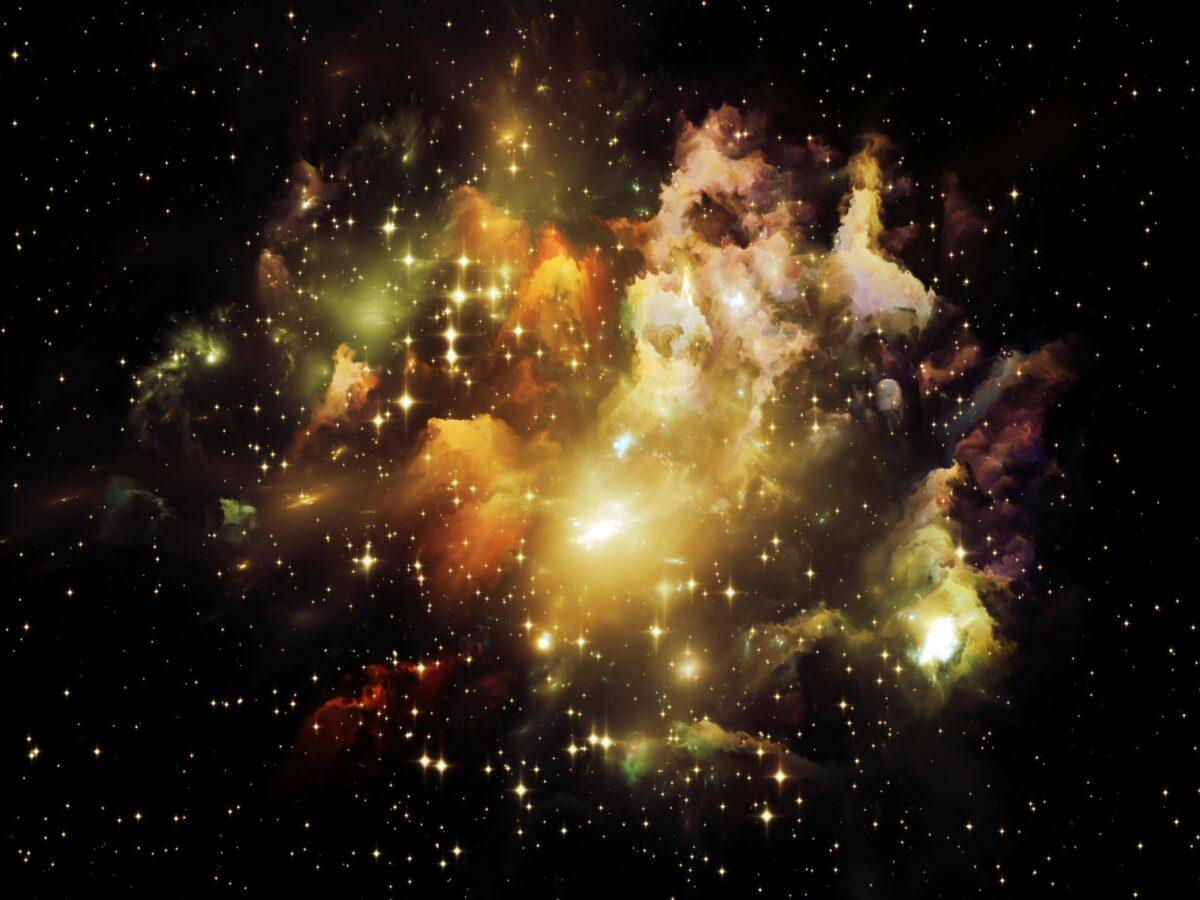 Galaxie Visualisierung.