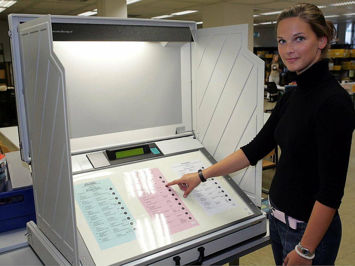 Deutscher Wahlcomputer