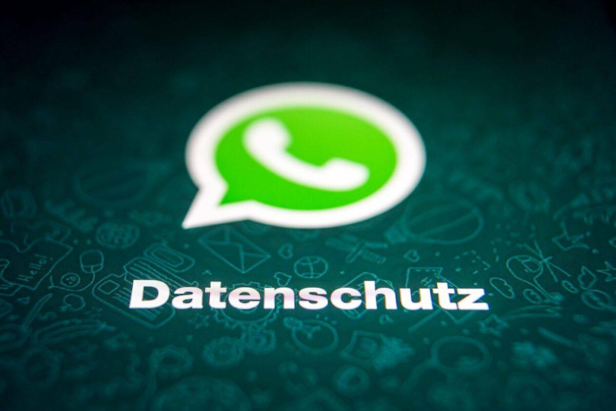Das WhatsApp-Logo.