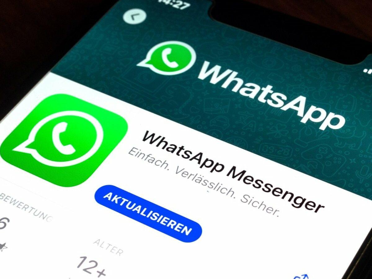 WhatsApp im Play Store.