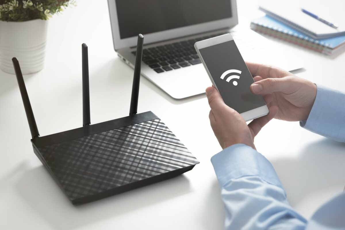wifi wlan router handy