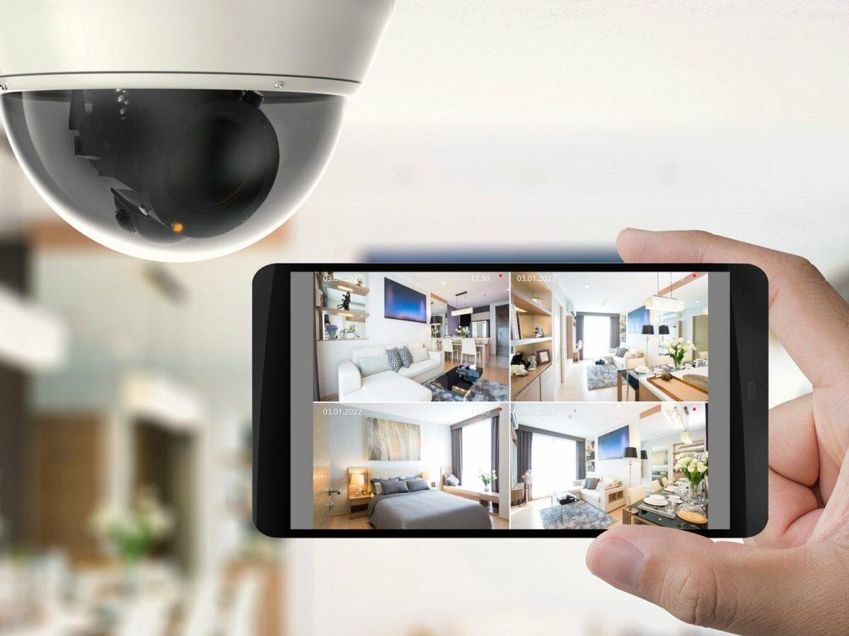 Überwachungskamera mit Smartphone