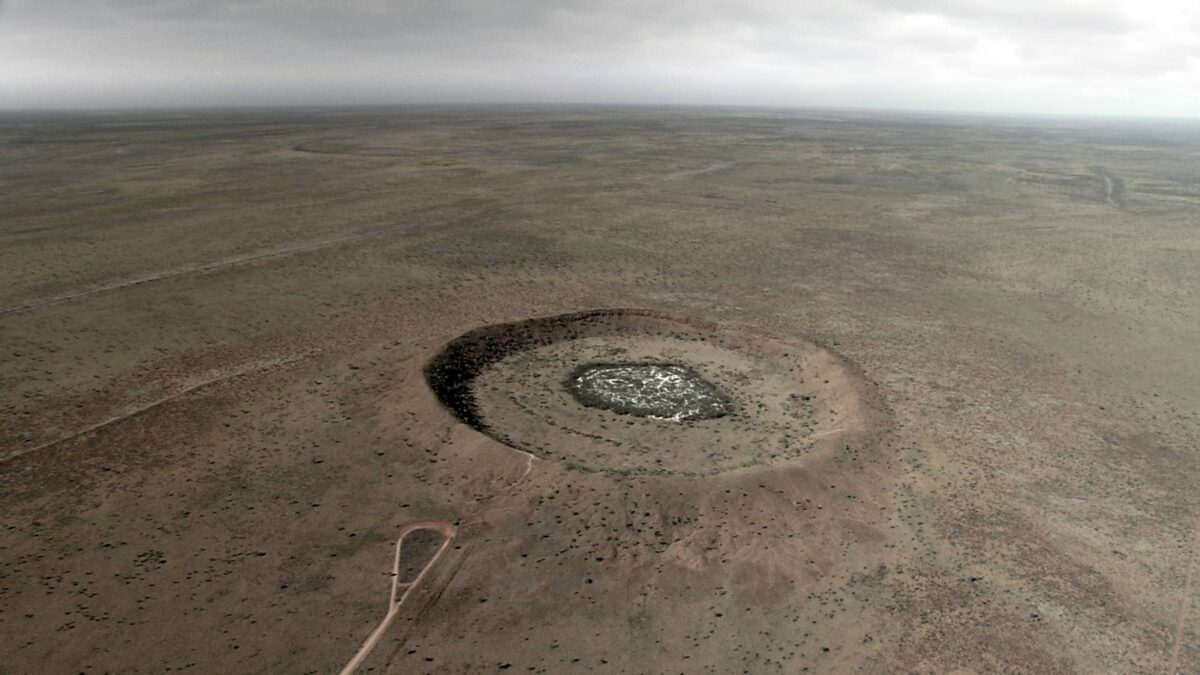 Wolf Creek Krater in Australien