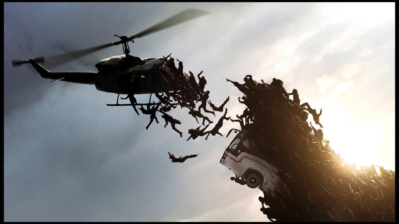 """""""World war Z"""" mit Brad Pitt aus dem Jahr 2013."""