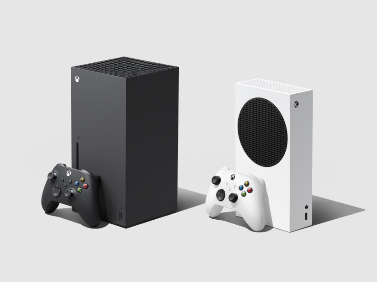 Xbox Series X und die Xbox Series S