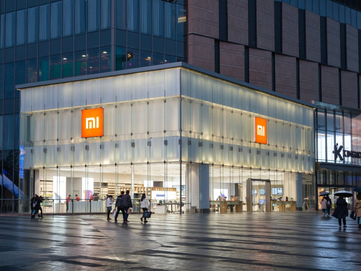 Xiaomi Store von außen