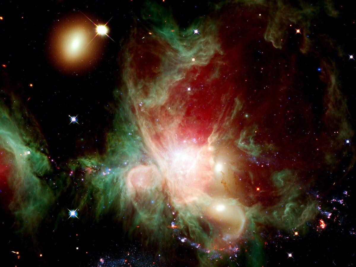 Sterne im Weltraum