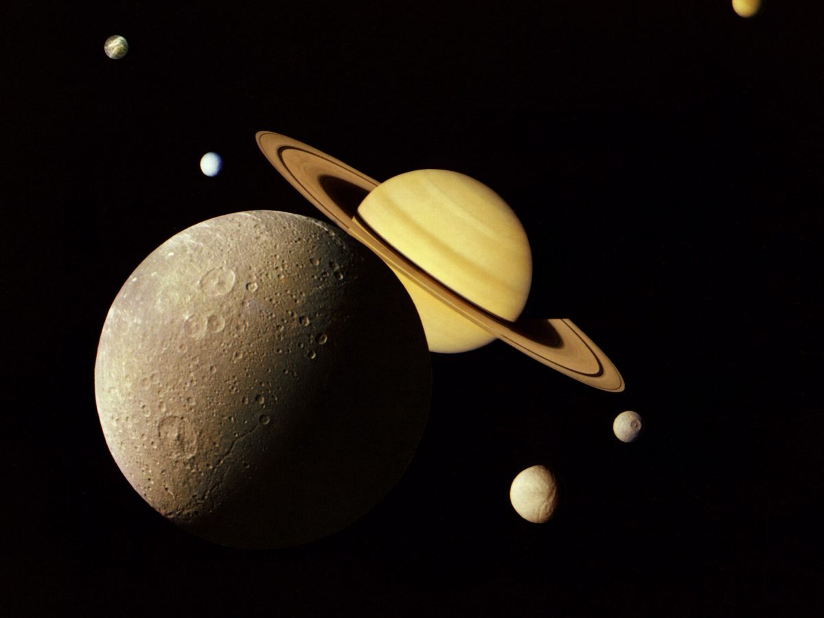 Saturnmonde Saturn