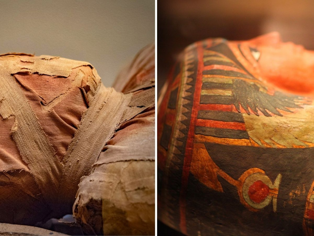 Zwei Mumien.