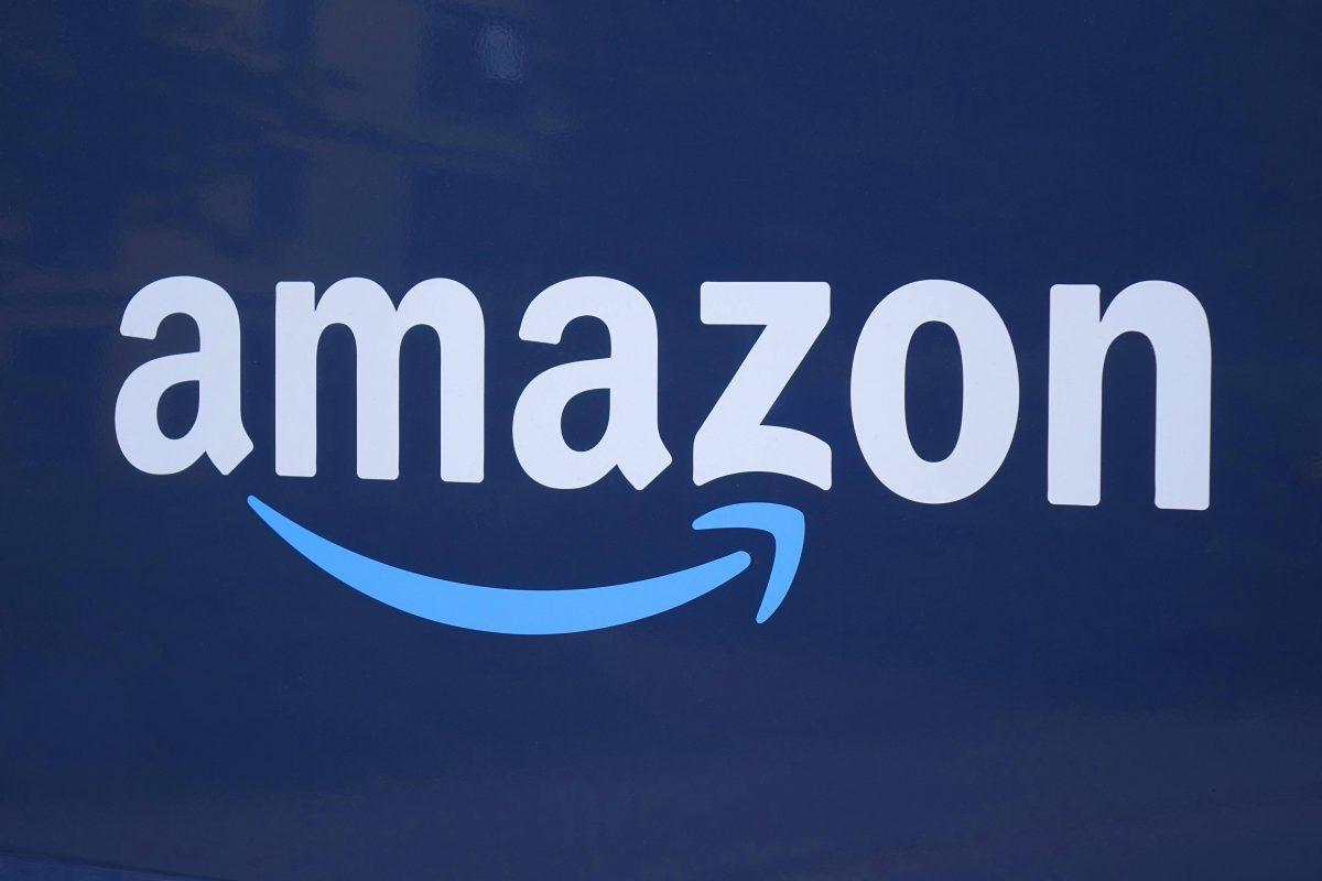 Das Amazon-Logo.