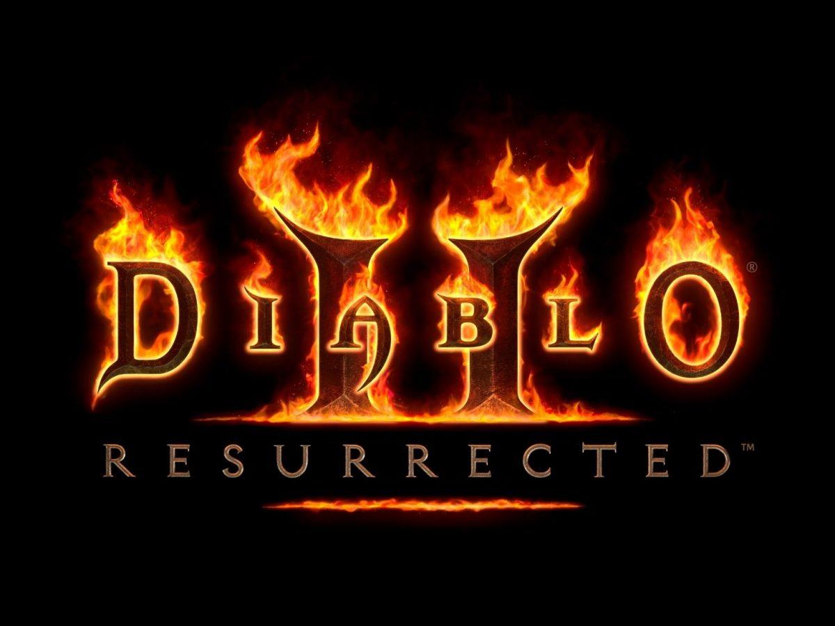 """Diablo II: Resurrected"" (2021)-Logo"