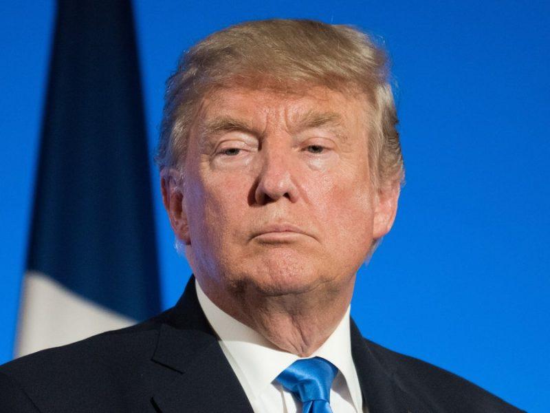 """Über den Schabernack mehrerer Internet-Nutzer auf seiner Plattform """"Truth Social"""" dürfte Donald Trump nicht erfreut sein.. © Frederic Legrand - COMEO/Shutterstock.com"""